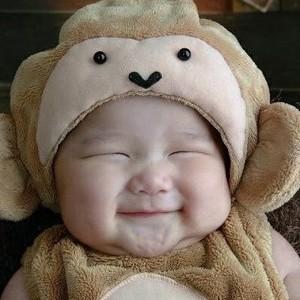 Bebê risada