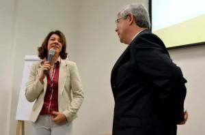 Mônica Vitória e Edson Fujita - Foto: Alberto Carvalho