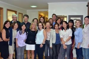 Palestra de Kelly Nagaoka, à convite de Mônica Vitória, com turma de coaches e Edson Fujita. Crédito da imagem: Alberto Carvalho