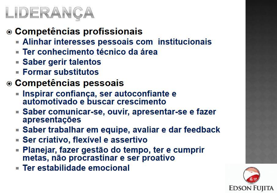 palestra sobre lideranca_ipd univap_edson fujita - coaching e consultoria_2013